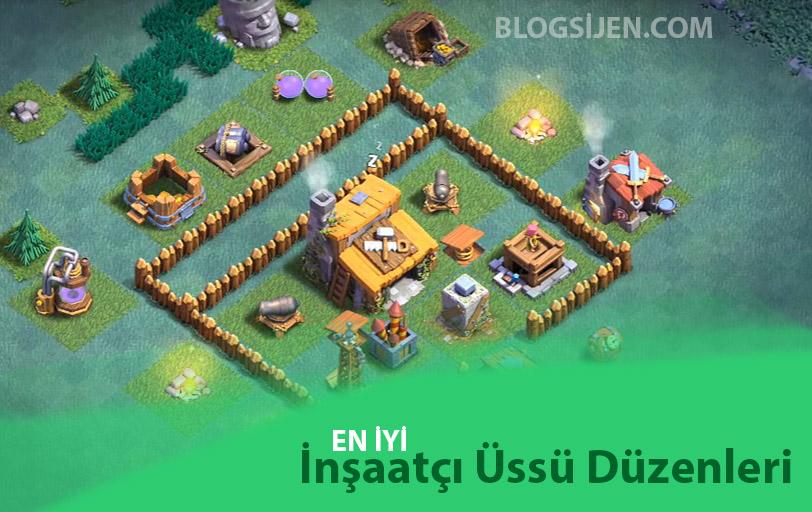 En iyi inşaatçı üssü köy düzenleri