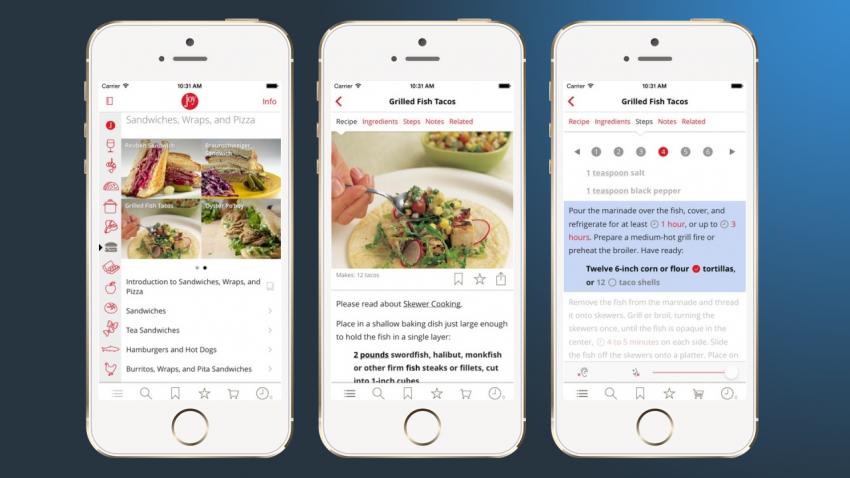 Android Yemek Tarifleri Uygulamaları