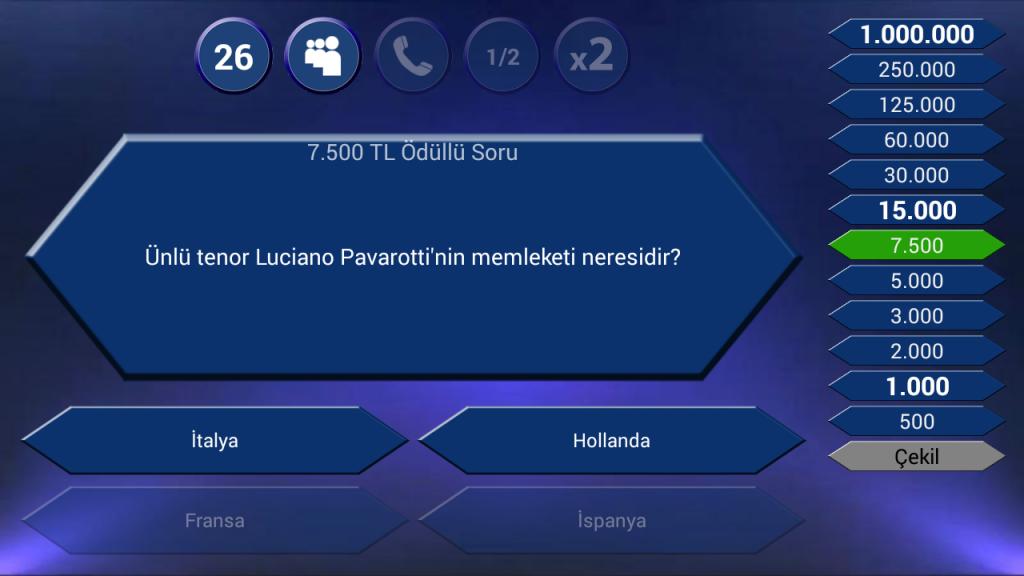 Bilgi Yarışması Android