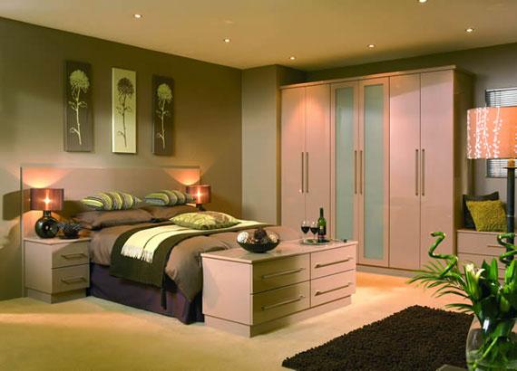 Farklı Tasarım Yatak Odası Dolabı