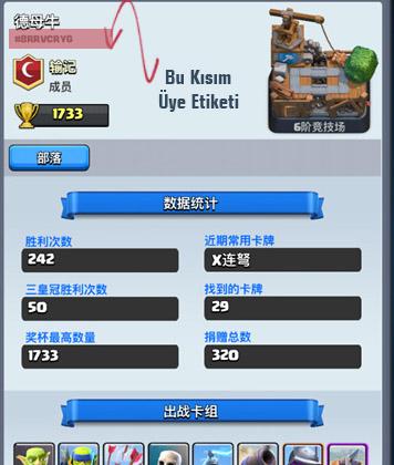 Clash Royale Profil Etiketi